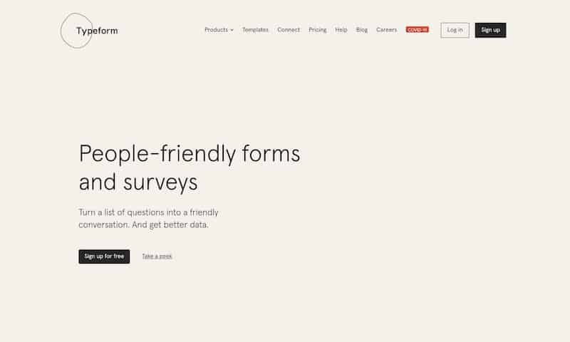 typeform quiz maker
