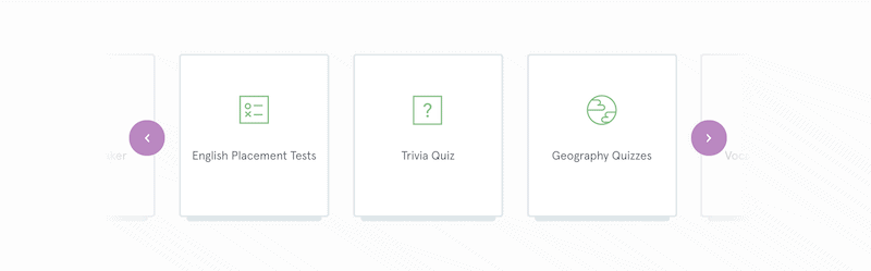 Typeform quiz maker formats