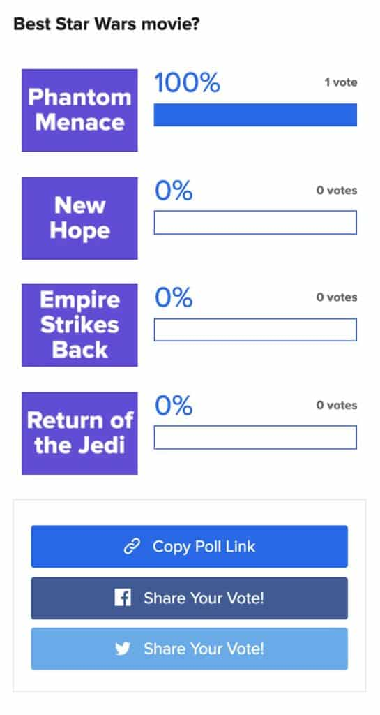 Buzzfeed poll