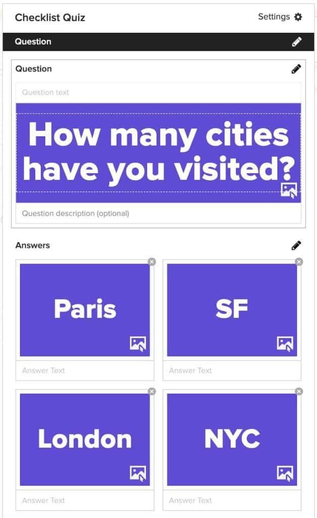 Buzzfeed checklist quiz