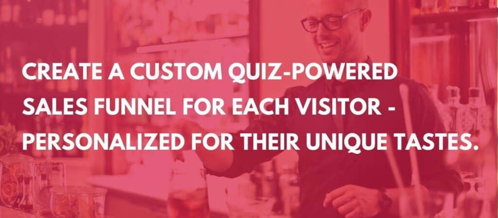 quiz marketing sales funnel