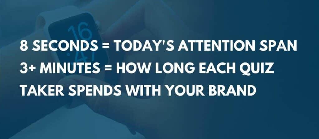 quiz marketing - attention span
