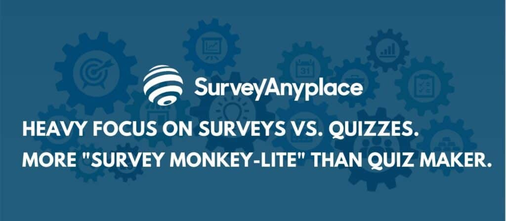 survey anyplace review - survey focused